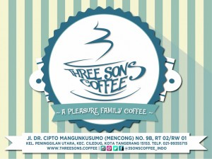 3 sons Coffee logo