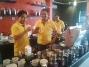 Bpk.Rohman Owner Nice Coffee- mitra Coffeland Indonesia