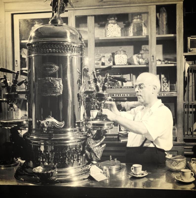 Mesin kopi pertama di dunia